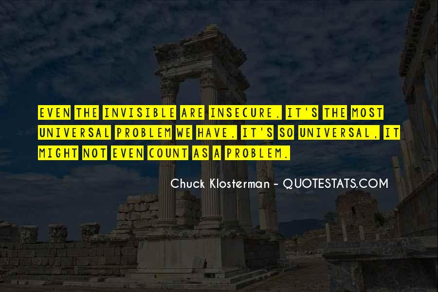 Chuck Klosterman Quotes #61370