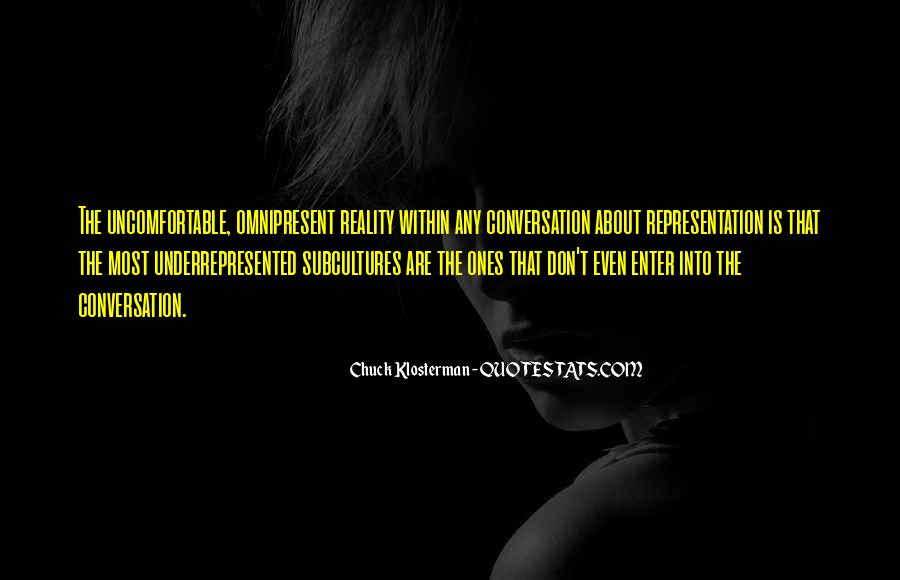 Chuck Klosterman Quotes #808286