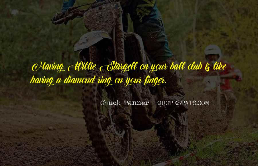 Chuck Tanner Quotes #1227508