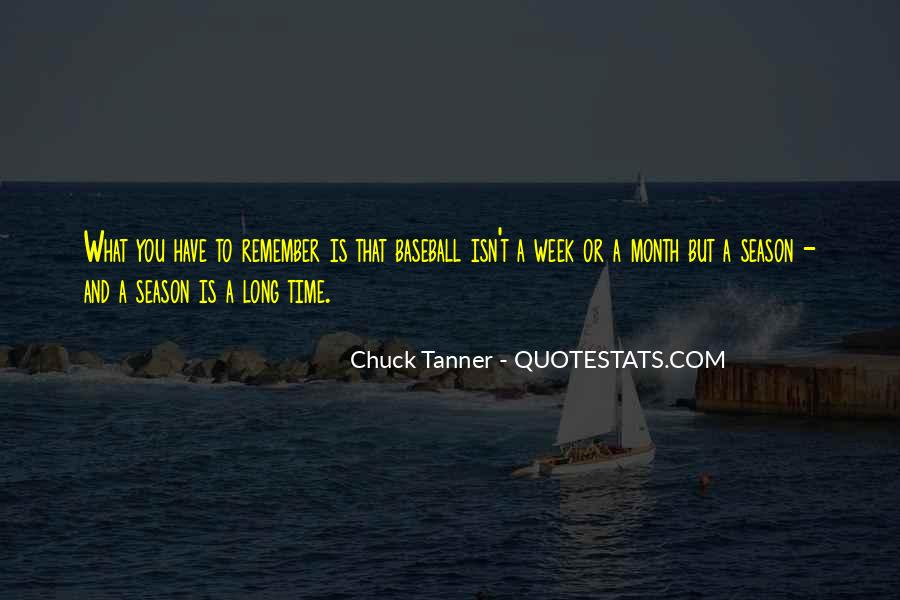 Chuck Tanner Quotes #1526746