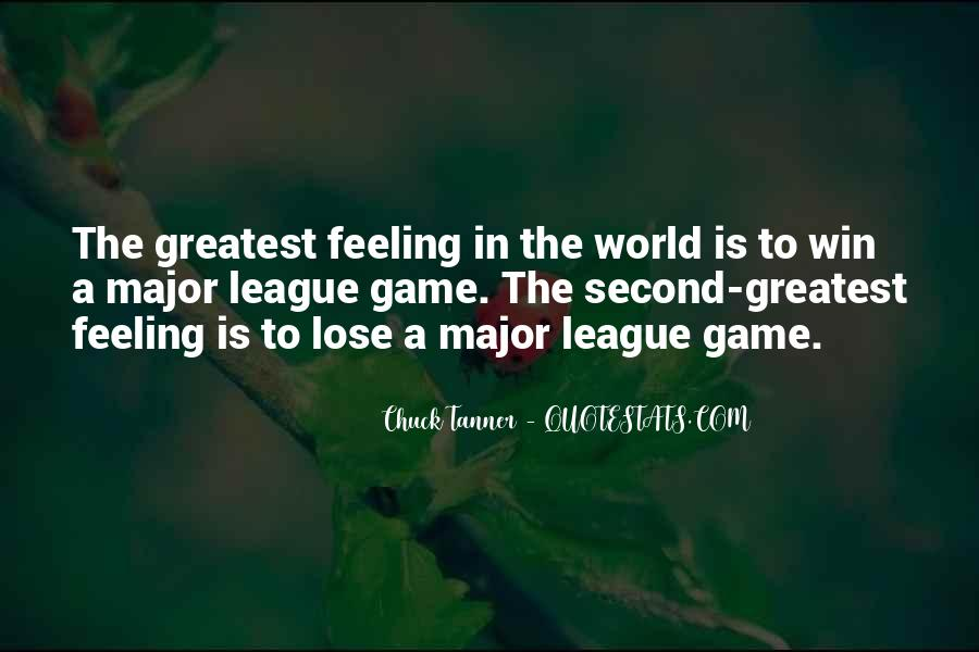 Chuck Tanner Quotes #675557