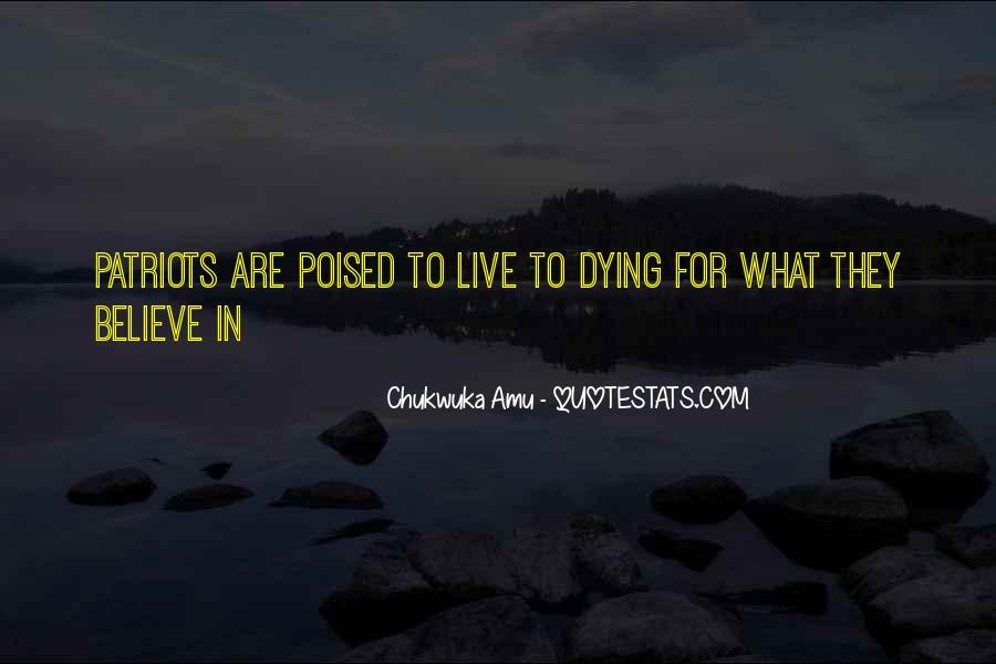Chukwuka Amu Quotes #1238562
