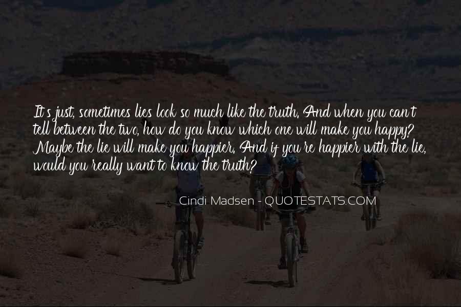Cindi Madsen Quotes #141239