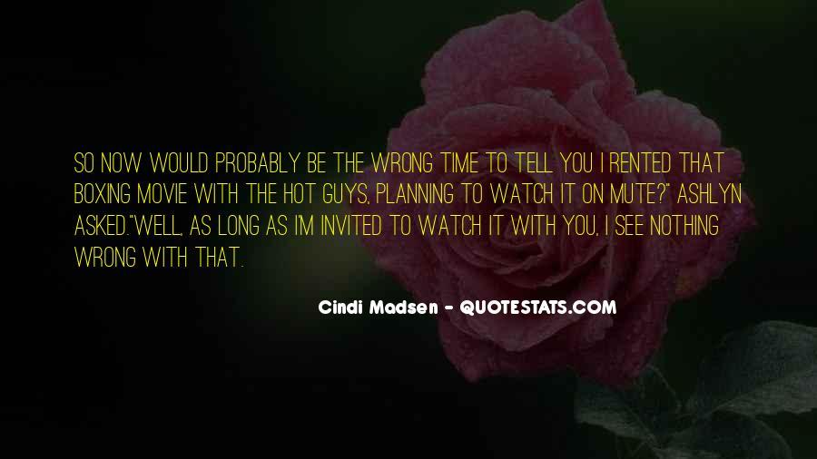 Cindi Madsen Quotes #1523264