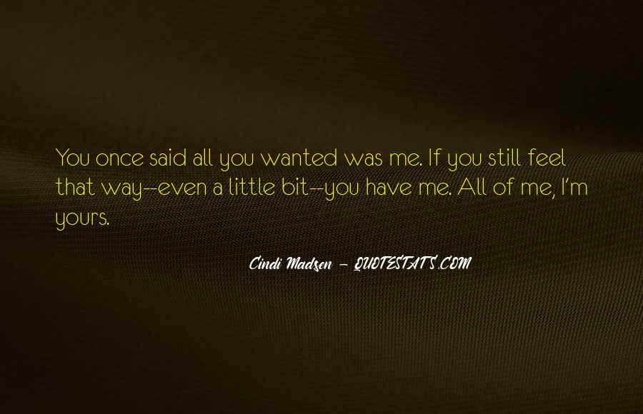 Cindi Madsen Quotes #1574908