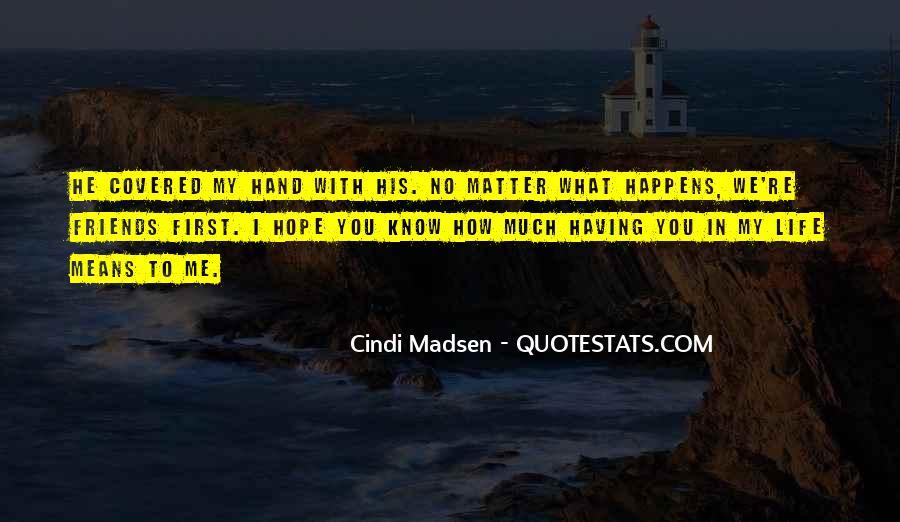 Cindi Madsen Quotes #159354
