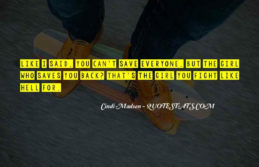 Cindi Madsen Quotes #1768572