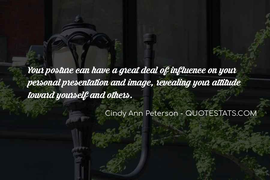 Cindy Ann Peterson Quotes #1361688