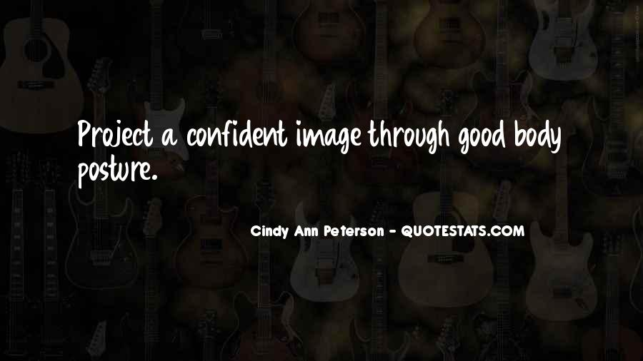Cindy Ann Peterson Quotes #1672840