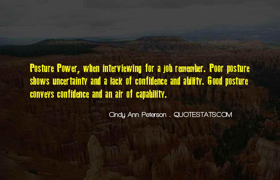 Cindy Ann Peterson Quotes #272243
