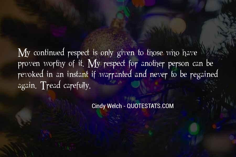 Cindy Welch Quotes #1431778