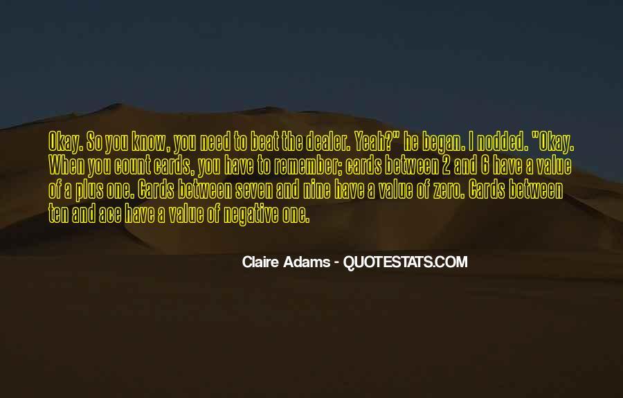 Claire Adams Quotes #1808968