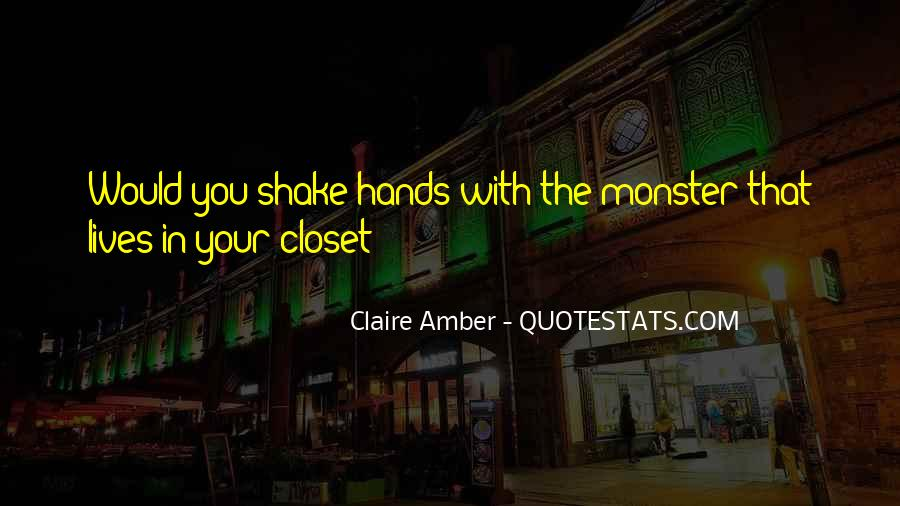 Claire Amber Quotes #1270296