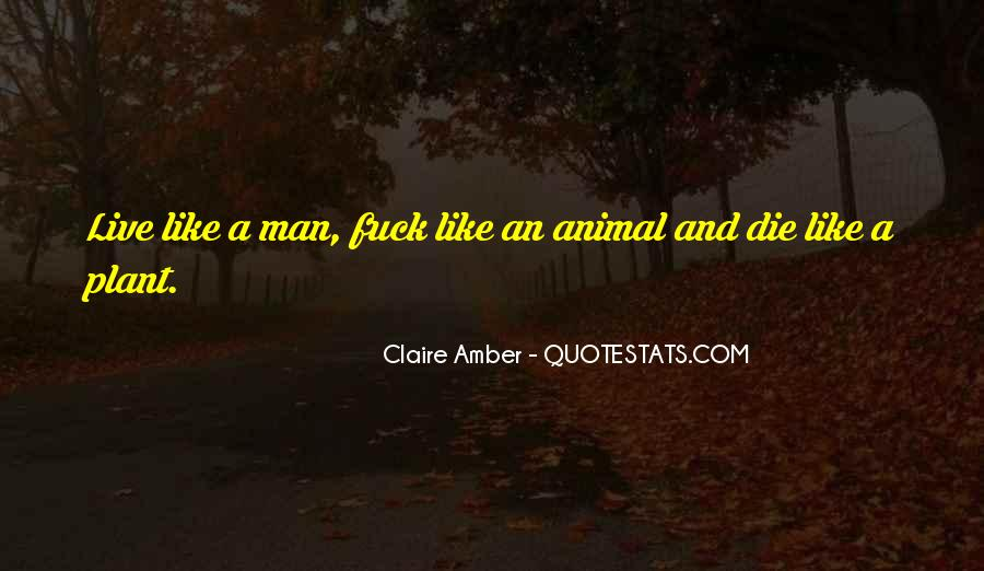 Claire Amber Quotes #1297556