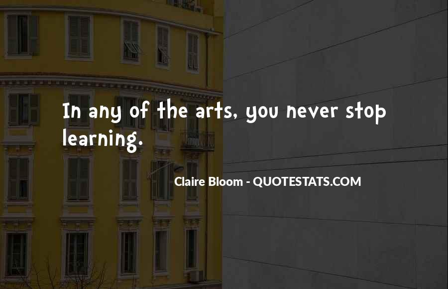 Claire Bloom Quotes #1878308