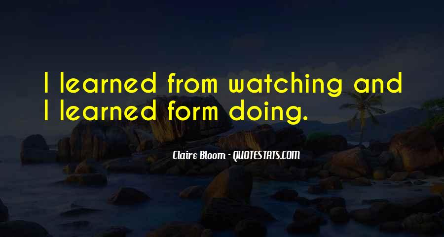 Claire Bloom Quotes #238693