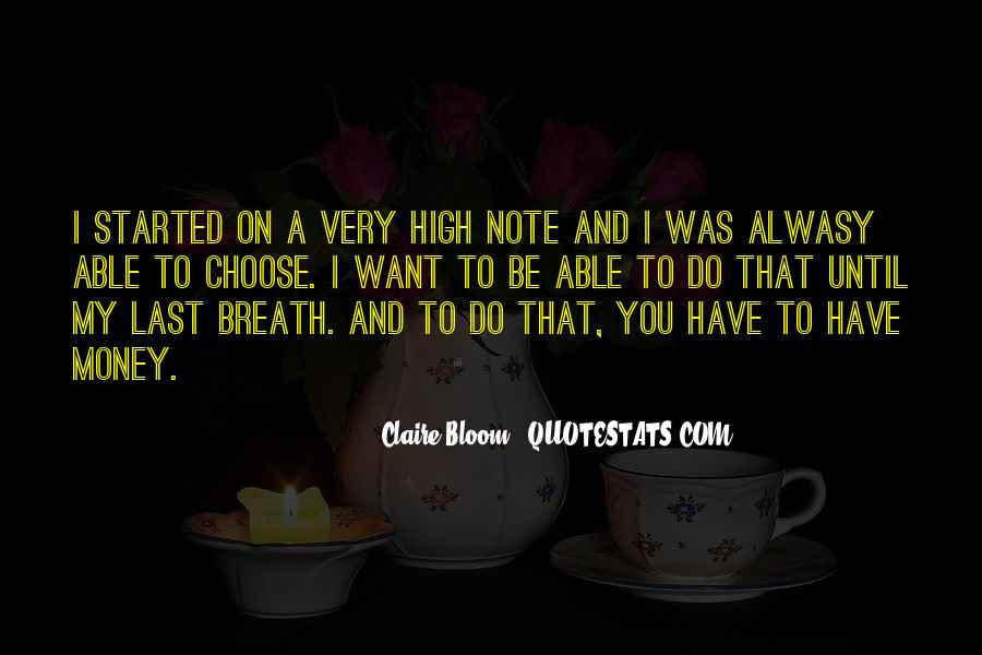 Claire Bloom Quotes #817923