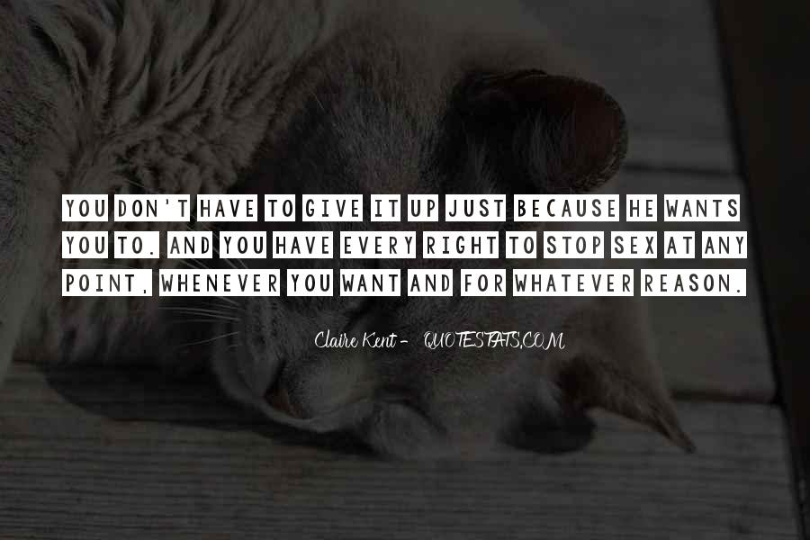 Claire Kent Quotes #244957
