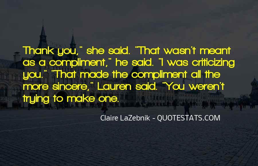 Claire LaZebnik Quotes #1127640