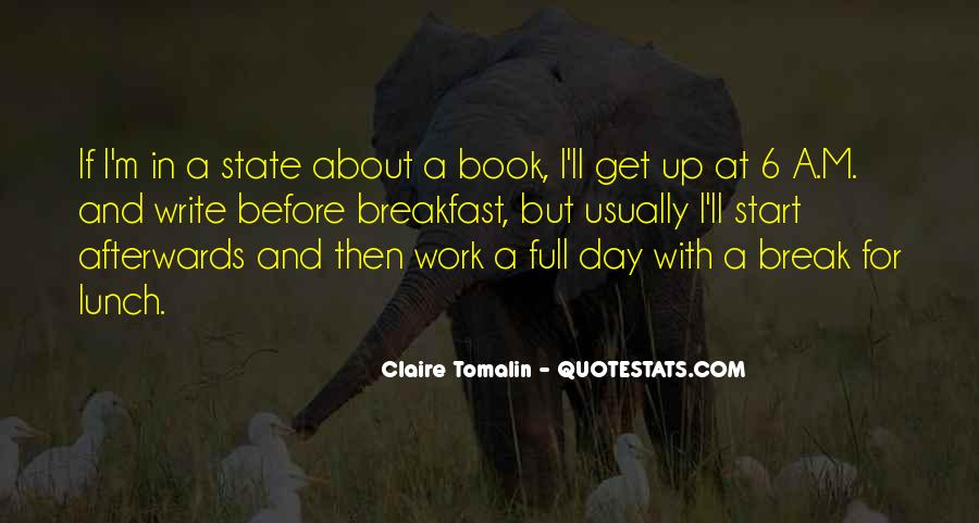 Claire Tomalin Quotes #1230791