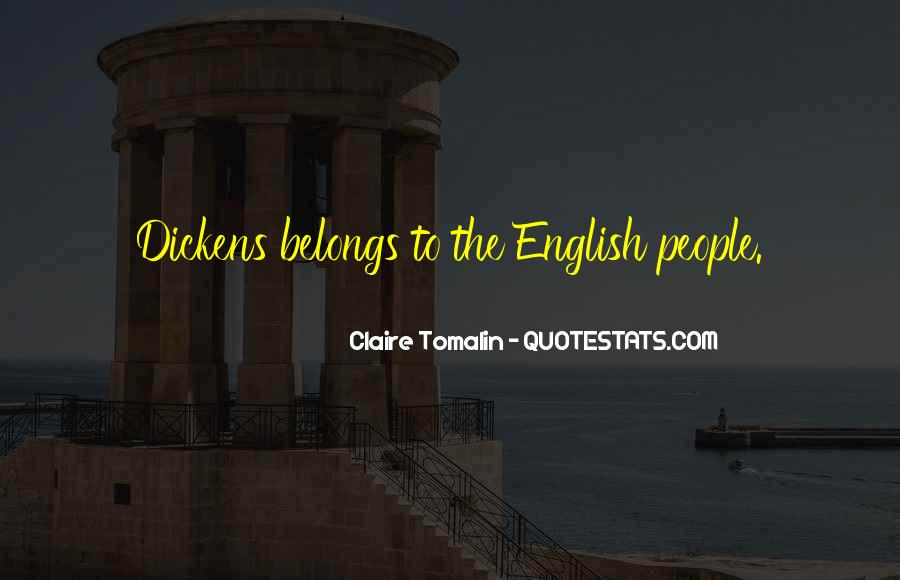 Claire Tomalin Quotes #1254207