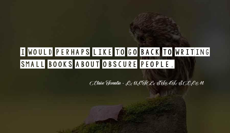 Claire Tomalin Quotes #1342822