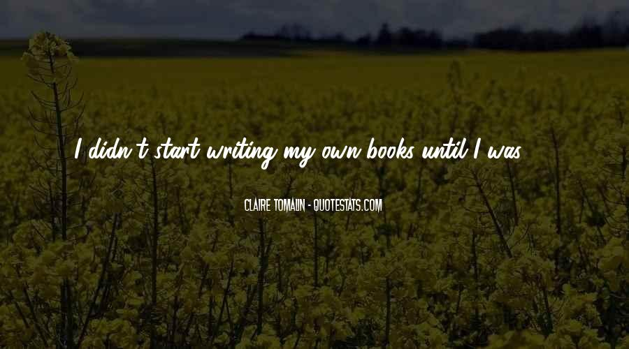 Claire Tomalin Quotes #1609846