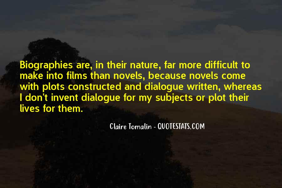 Claire Tomalin Quotes #1725049