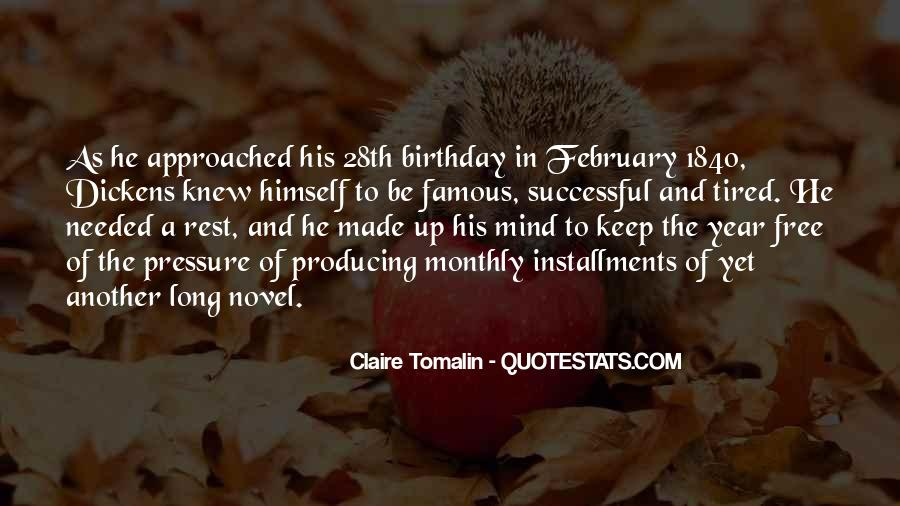 Claire Tomalin Quotes #175652