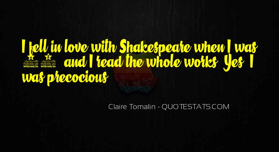 Claire Tomalin Quotes #1796013