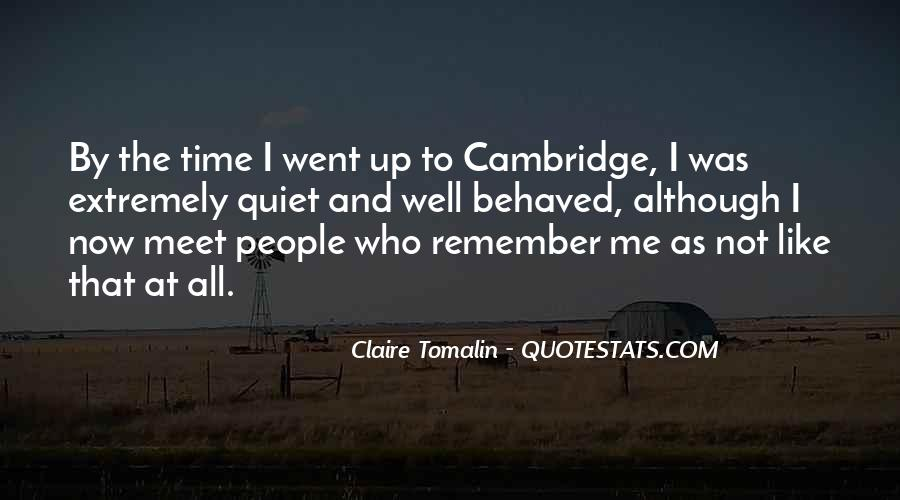 Claire Tomalin Quotes #893214