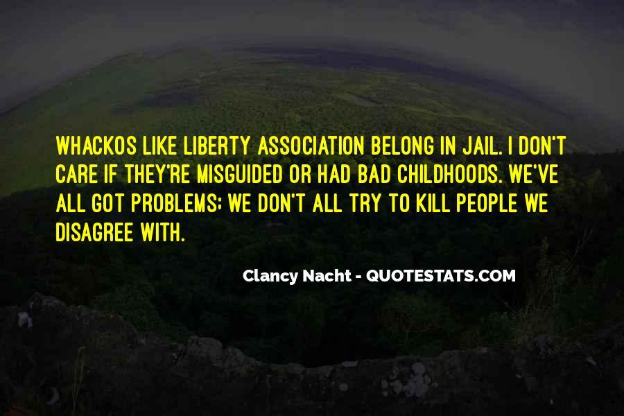 Clancy Nacht Quotes #124512