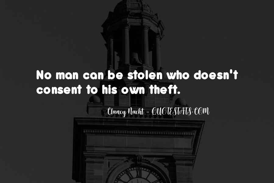 Clancy Nacht Quotes #342681