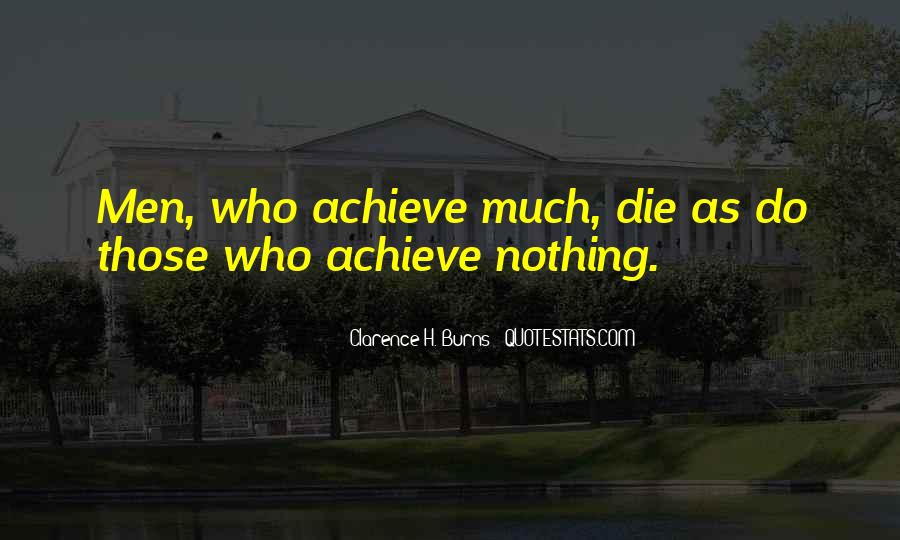 Clarence H. Burns Quotes #773382