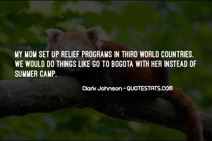 Clark Johnson Quotes #1805993