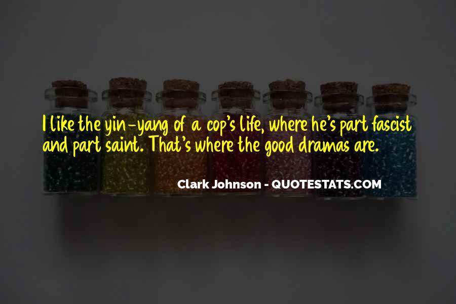 Clark Johnson Quotes #1823444