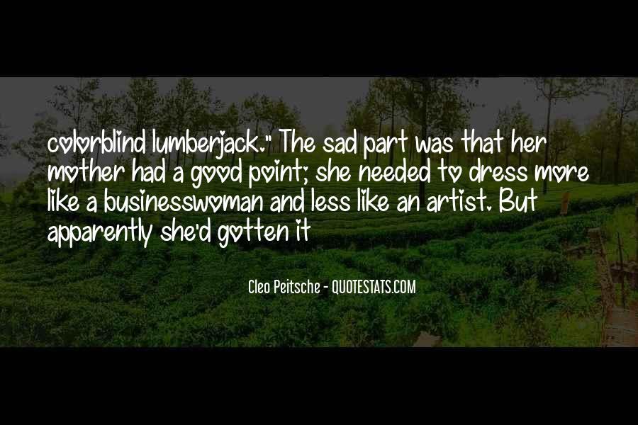 Cleo Peitsche Quotes #1371321