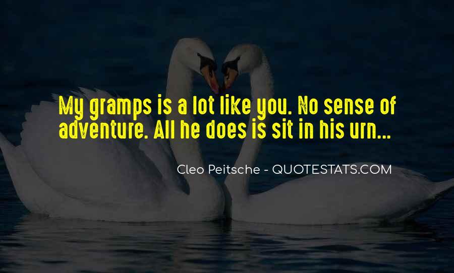 Cleo Peitsche Quotes #1390386