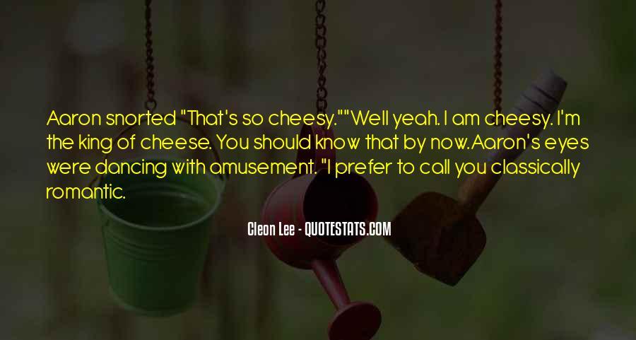 Cleon Lee Quotes #1839813