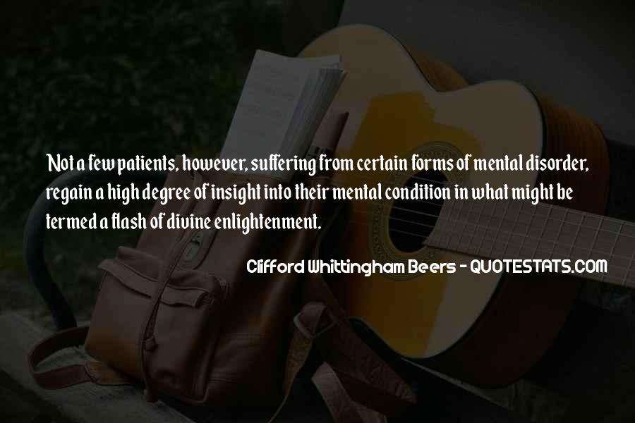 Clifford Whittingham Beers Quotes #1791023