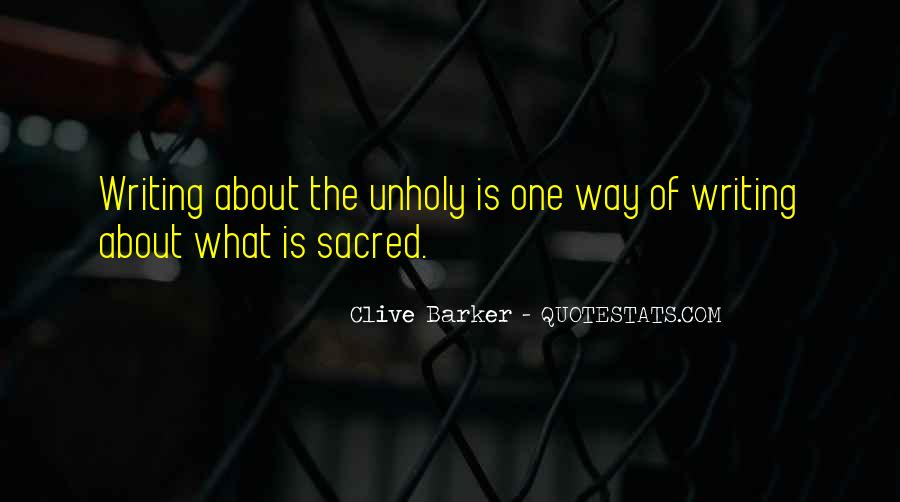 Clive Barker Quotes #1161435