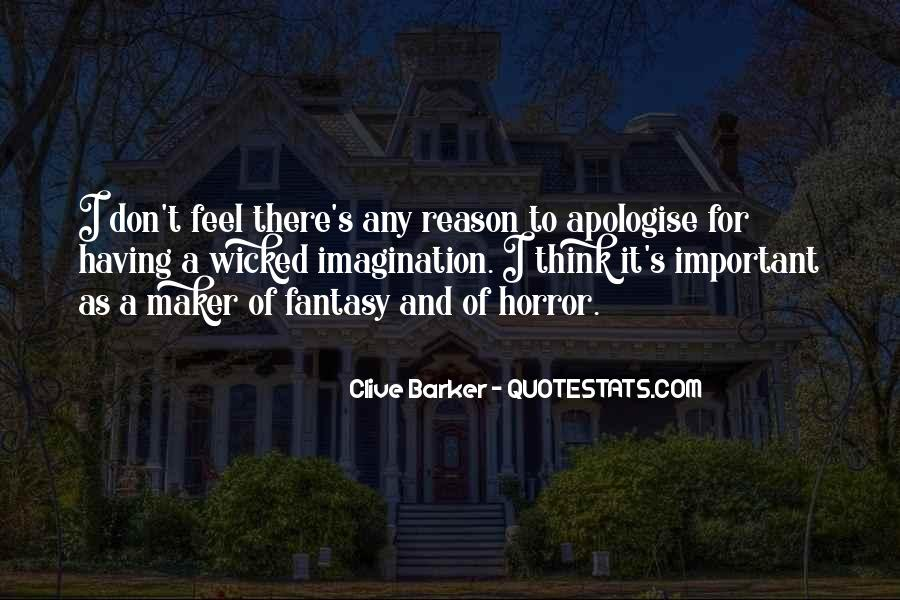 Clive Barker Quotes #209518
