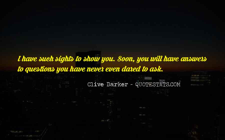 Clive Barker Quotes #223727