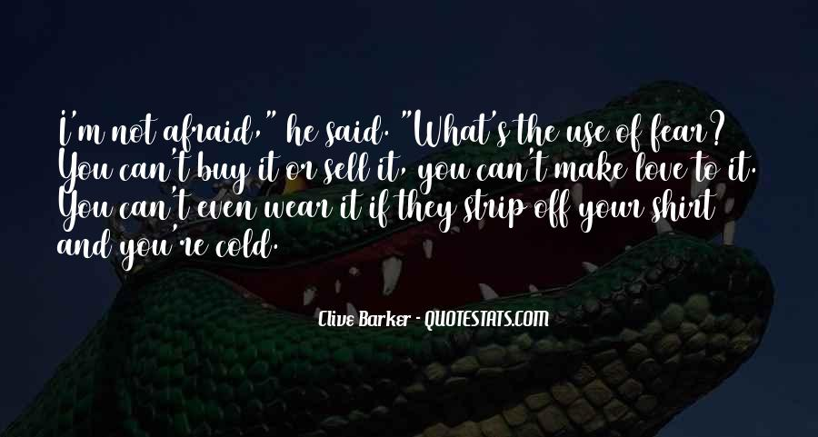 Clive Barker Quotes #360260