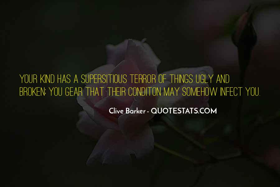 Clive Barker Quotes #711915