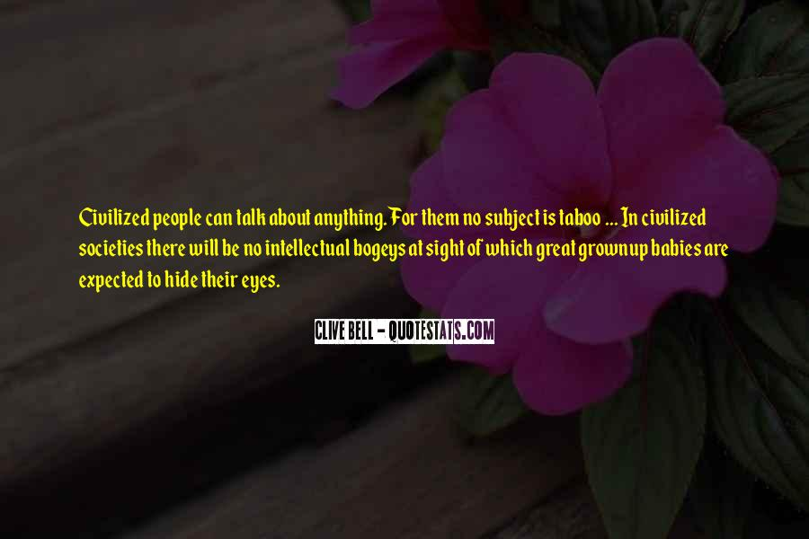 Clive Bell Quotes #1127548