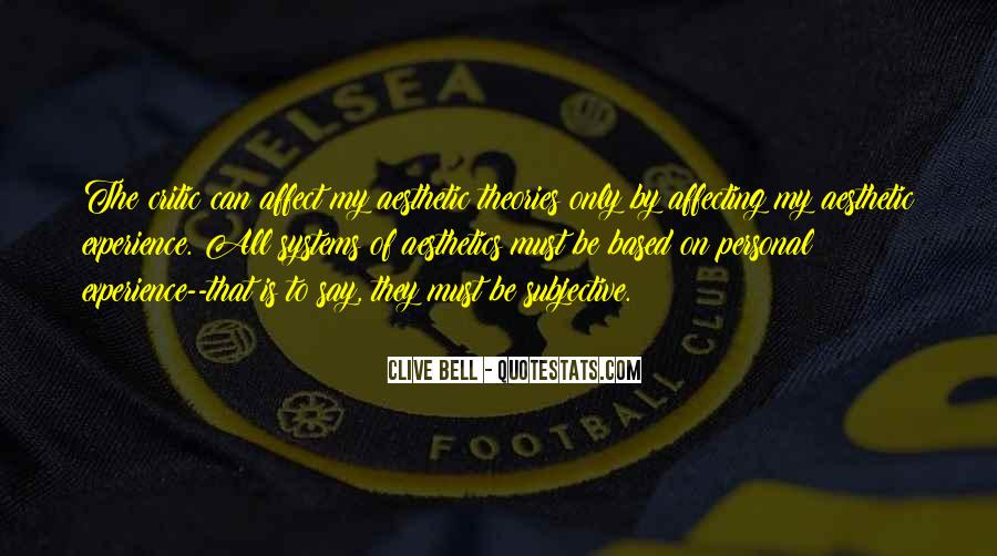 Clive Bell Quotes #1314124