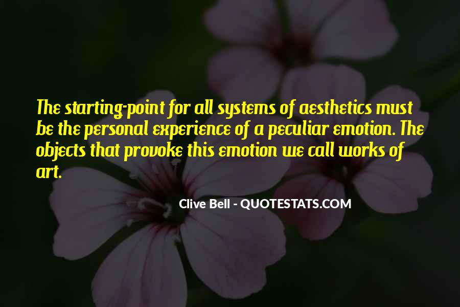 Clive Bell Quotes #139550
