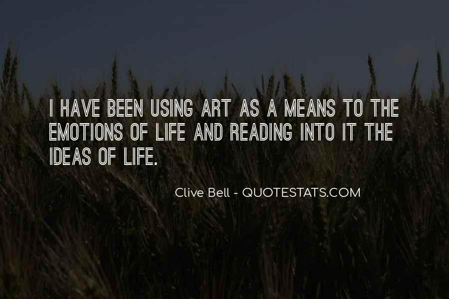 Clive Bell Quotes #1566813