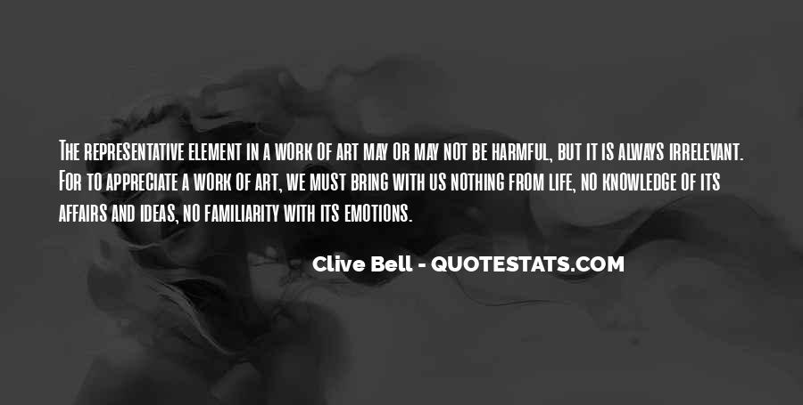 Clive Bell Quotes #491523